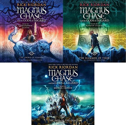 Magnus Chase and the Gods of Asgard Series Book 1-5 - Rick Riordan
