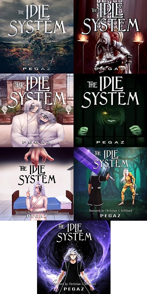 The Idle System Series Book 1-7 - Pegaz