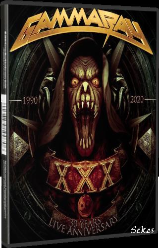 Gamma Ray - 30 Years Live Anniversary (2021, DVD9)